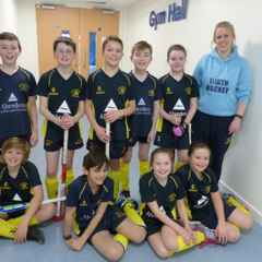Our U-12s enjoy their first taste of Indoor Hockey