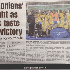 EE Article on the U16 Cup Final and VIDEOS from the Game ! ! !