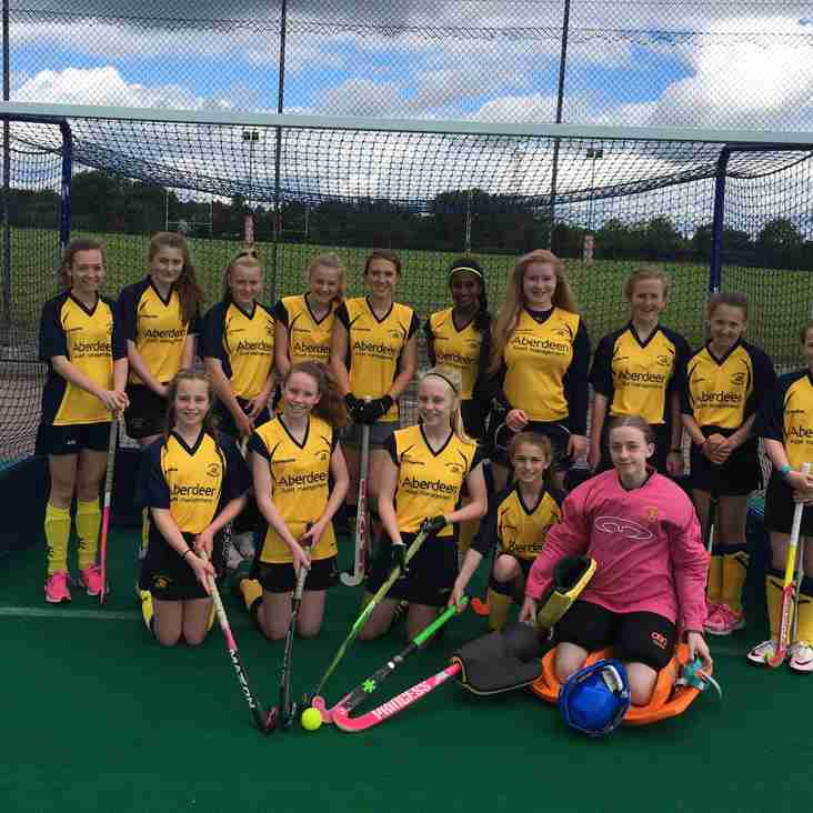 Hockey update from last weekend (7th/8th October)
