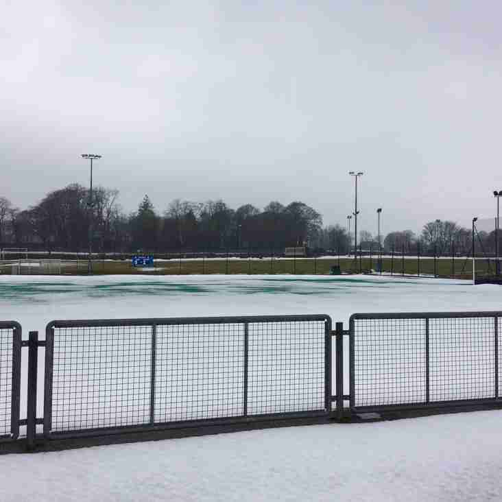 YOUTH COACHING CANCELLED  - TUESDAY 6th MARCH