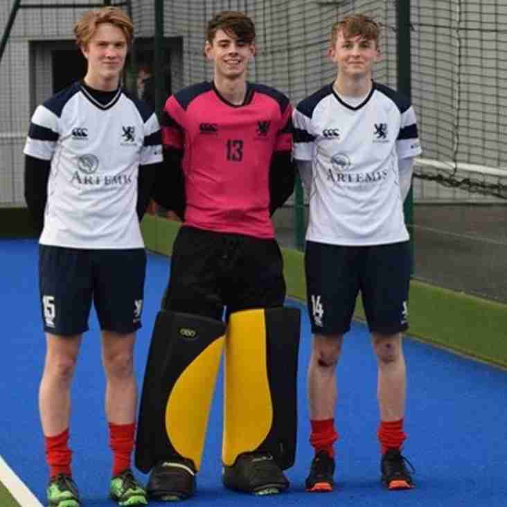 Reports on our boys from the Scotland U-18 matches v Wales
