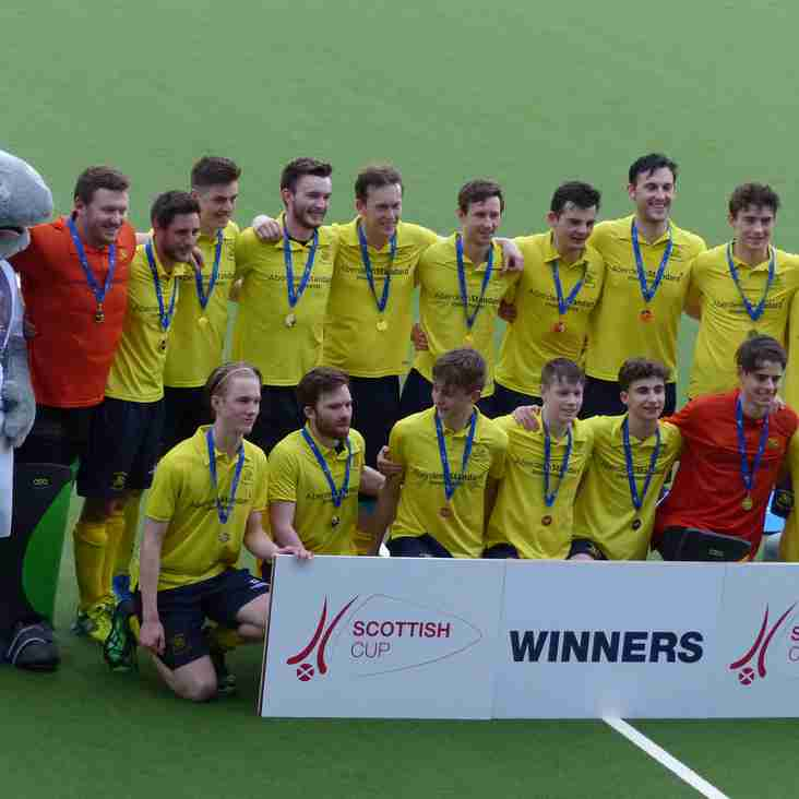 Gordonians win the Scottish Plate Final in Glasgow