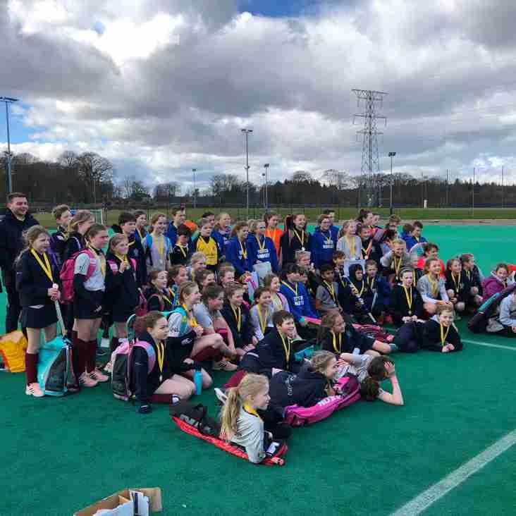 Over 70 girls and boys enjoy Gordonians U-12 tournament