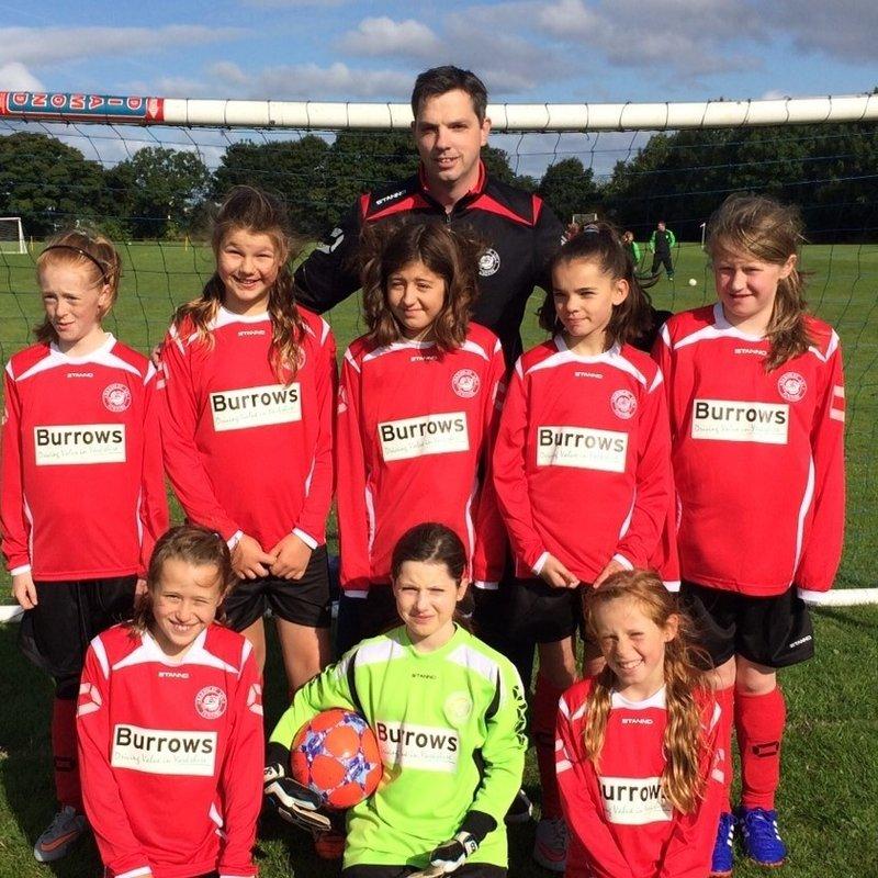 Barnsley FC Ladies U12's Blue lose to Barnsley Ladies Reds 1 - 2