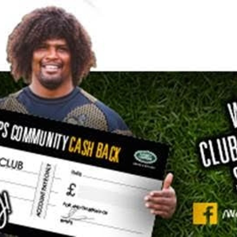 Club Cashback Wasps Tickets Available Now!