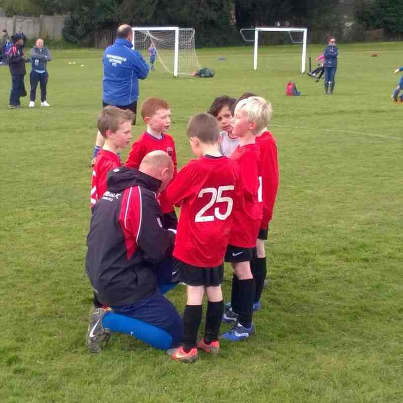 Foresters U7 Eagles at Home to Tonbridge (23 April 2016)