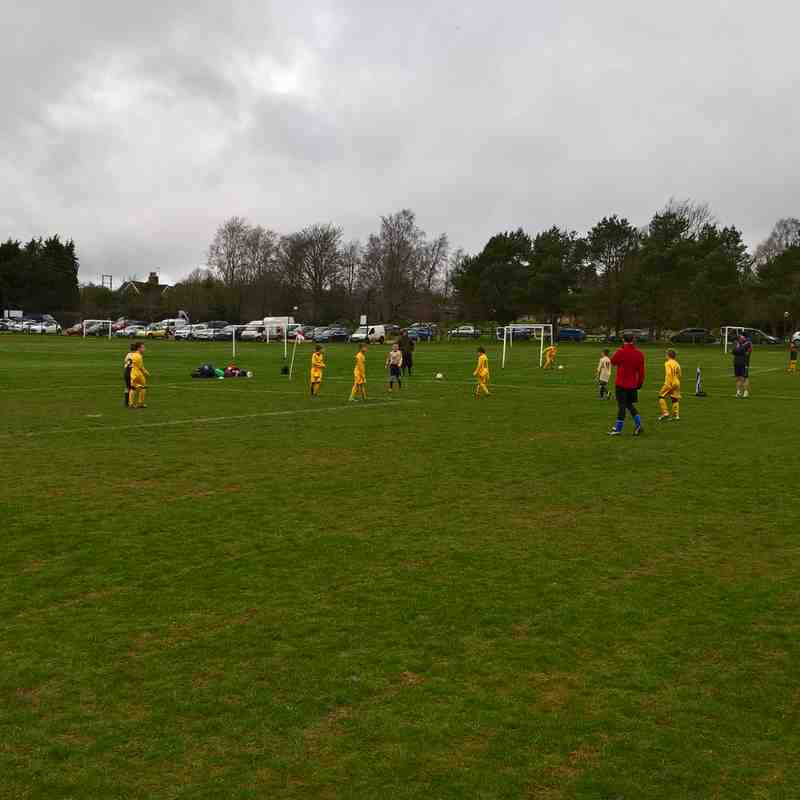 Foresters Wolves U8 v Stone Cross Royals Navy (26 Feb 17)