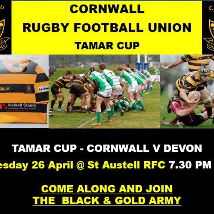 Tamar Cup is nearly upon us!!