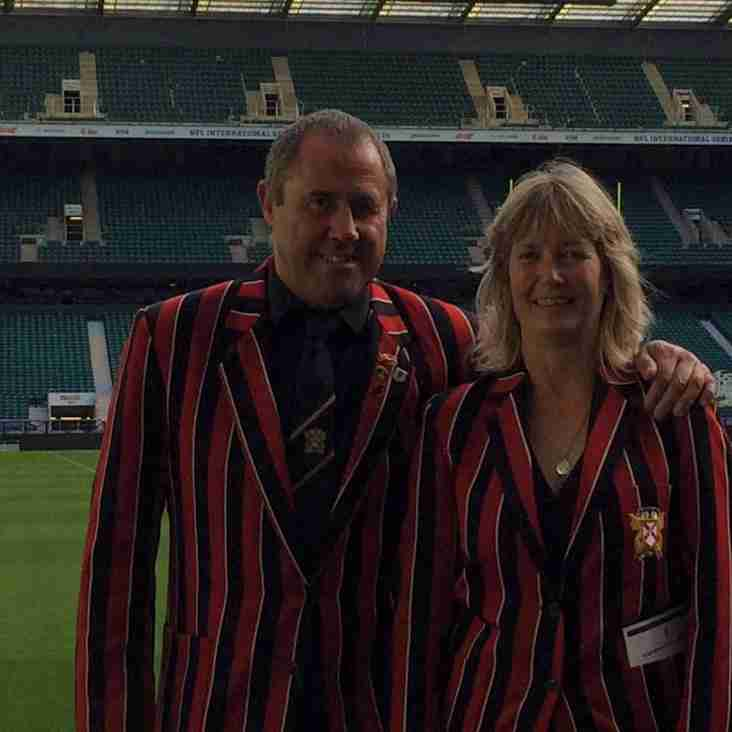 Dynamic Duo receive RFU accolade for Tregorrick Park pitches!