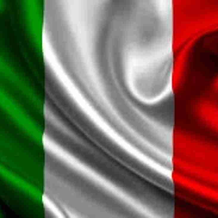 Wilmslow Host ITALY U20s in the World Cup in June!