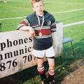 Hamish Watson hands over his first Scotland shirt to his boyhood club