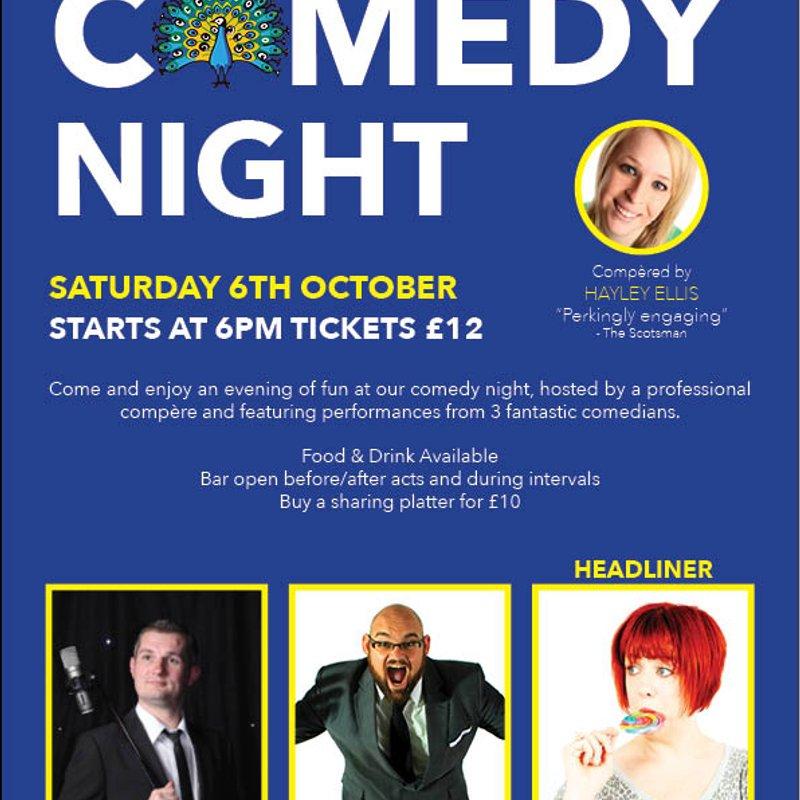 Comedy Night 6th October