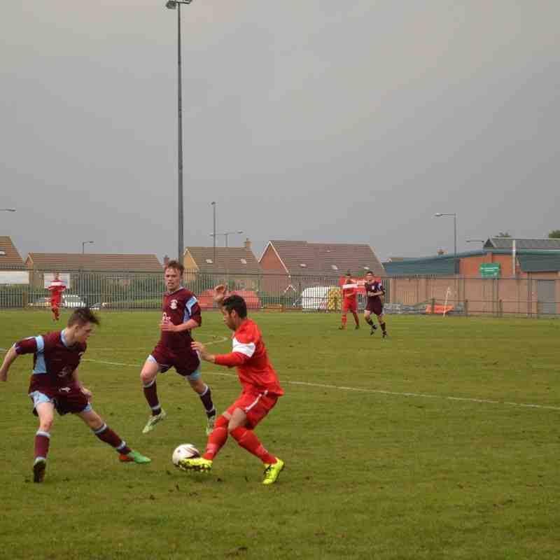 Thetford Town F.C. 14/08/15