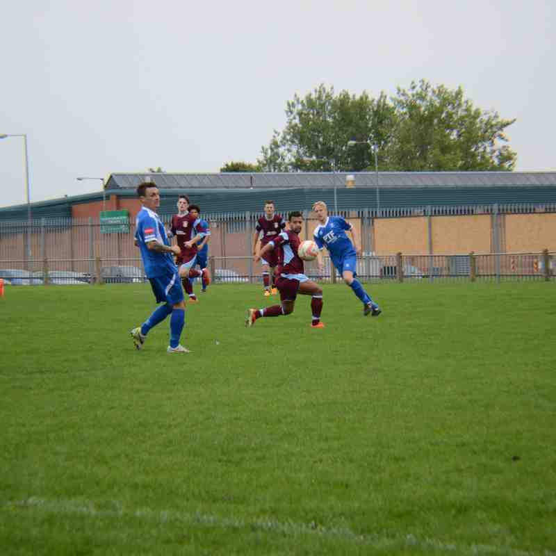Bury Town 5 - 3 Thetford F.C