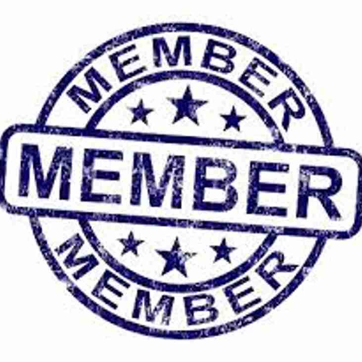 Members Website details and Annual Membership 2017-18