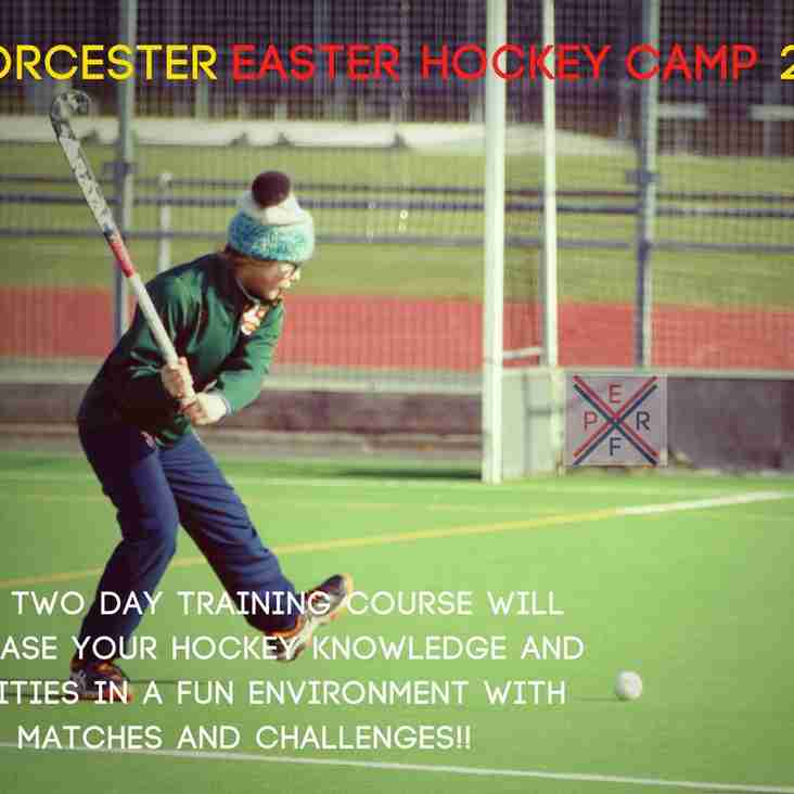 Worcester Hockey Club Easter Camp 2018