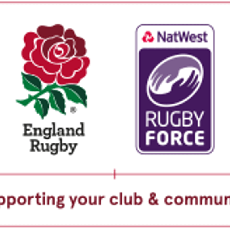 NatWest Rugby Force weekend - 24th/25th June. VOLUNTEERS & EQUIPMENT STILL REQUIRED