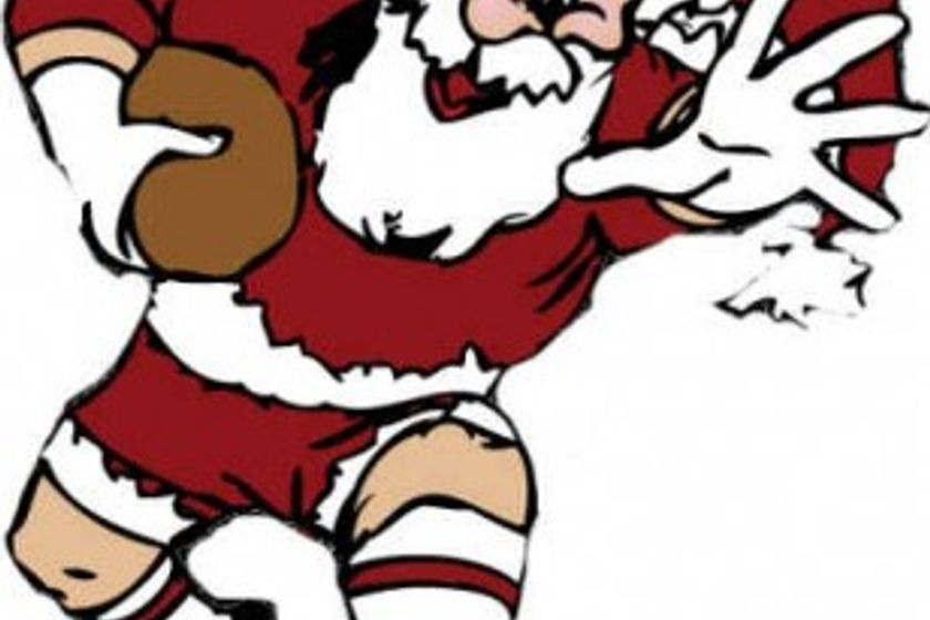 Teddington RFC Mini's - don't forget your Santa hats and rugby boots tomorrow!