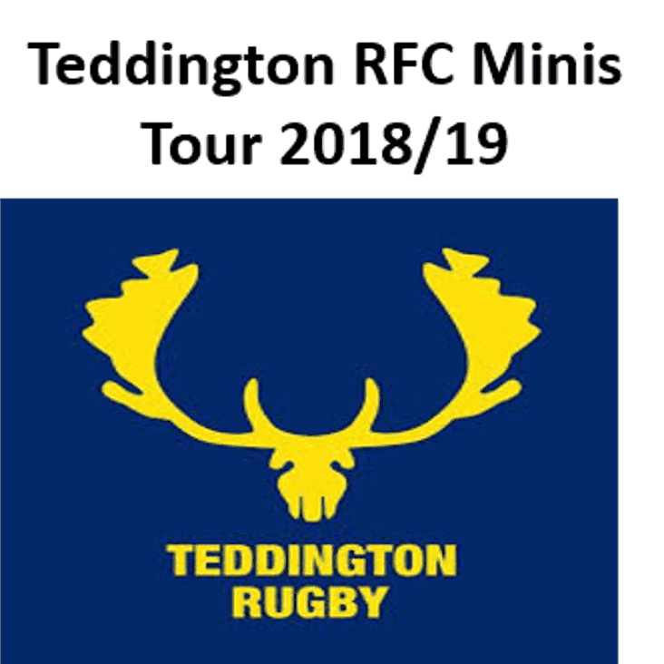 Teddington RFC 2018/19 Mini's Tour - secure your place now