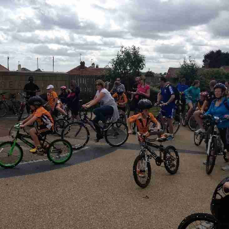 UNDER 10s & UNDER 11s Sponsored Cycle - Sat 21st June