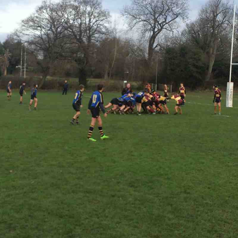 u14s vs Hertford