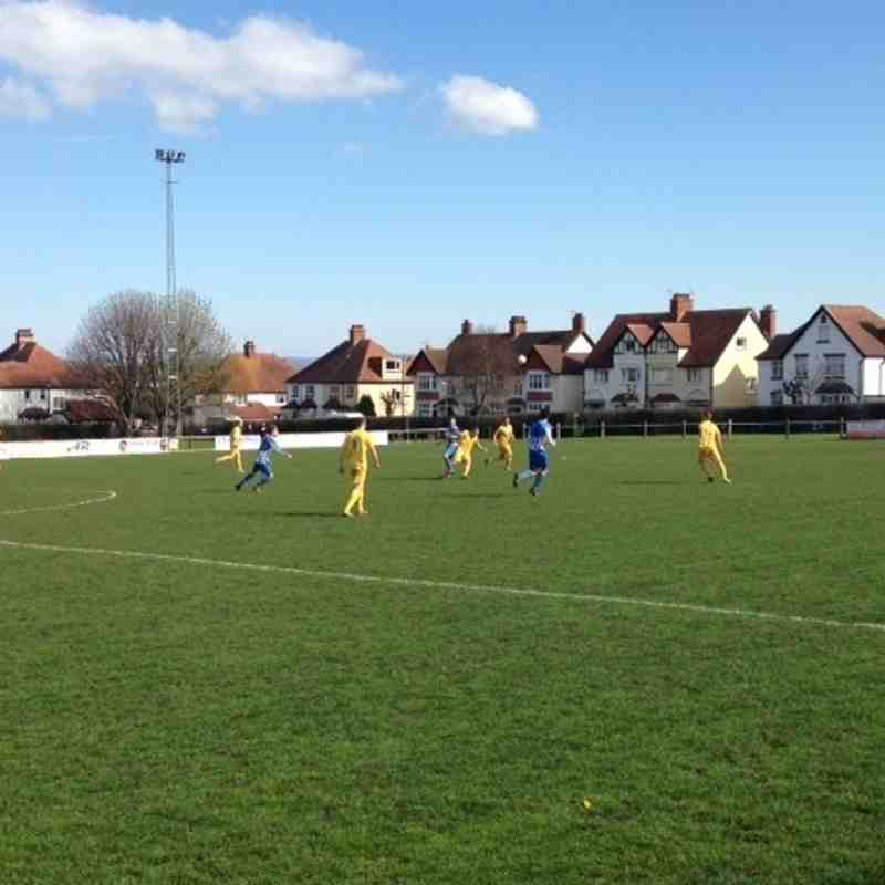 Wells Res vs Minehead Away 2nd April