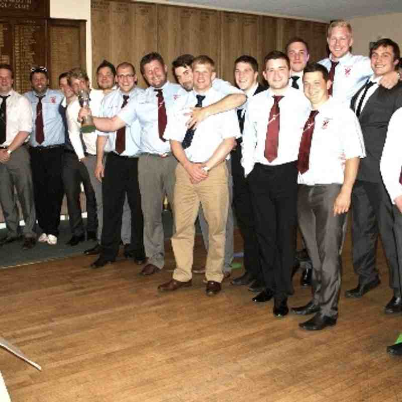 Teignmouth RFC Presentation Evening May 2013