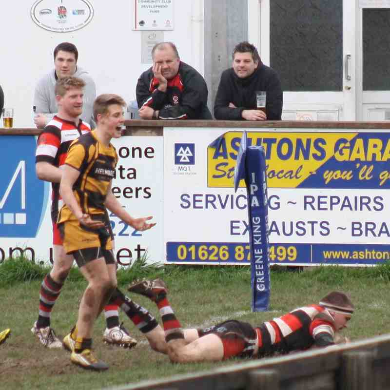 Teignmouth RFC Reserves v Crediton 4.3.17