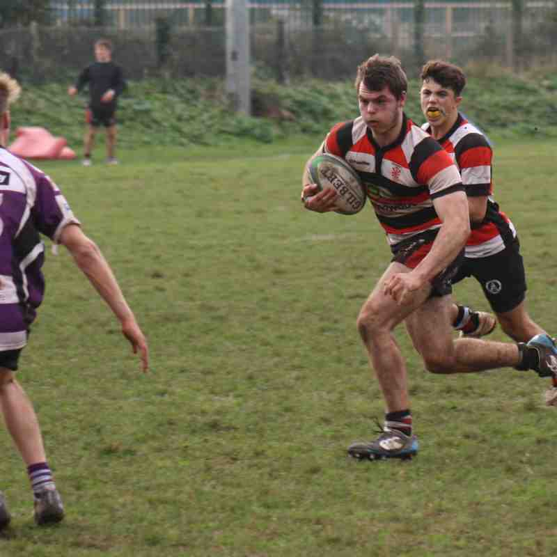 Teignmouth RFC Colts v Exmouth 17.12.16