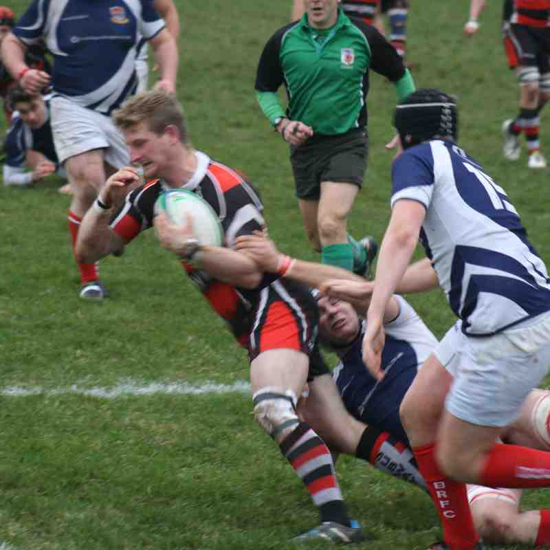 Teignmouth RFC 1st XV v Bideford 3.12.16