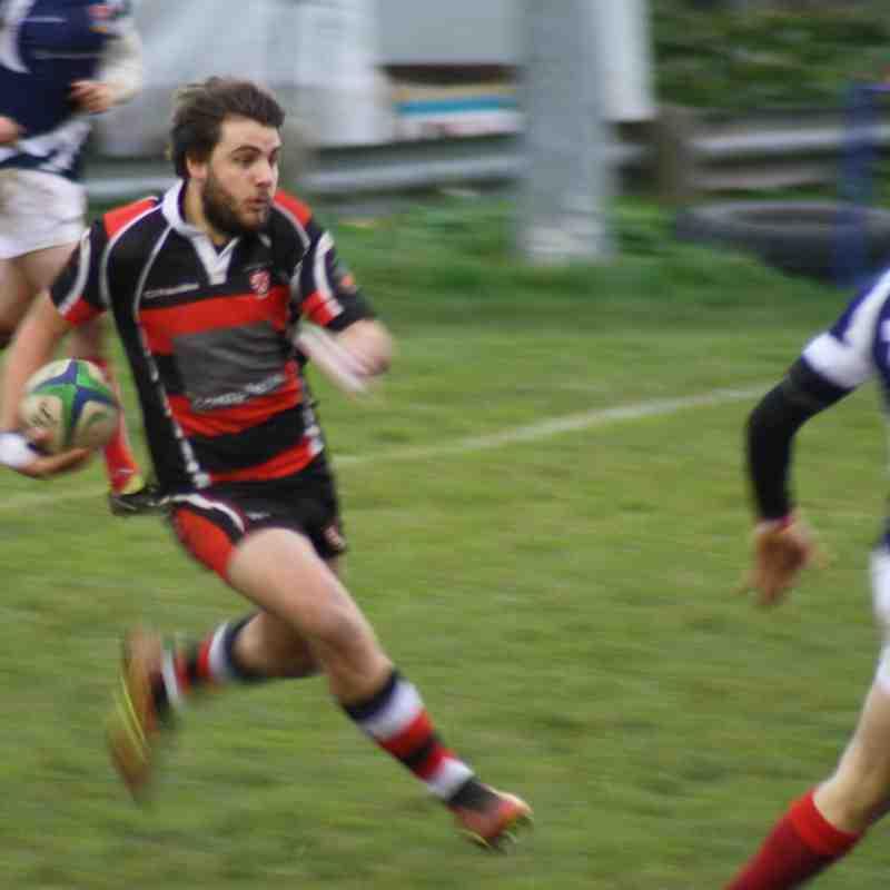 Teignmouth RFC 1st XV v Bideford 9.12.17