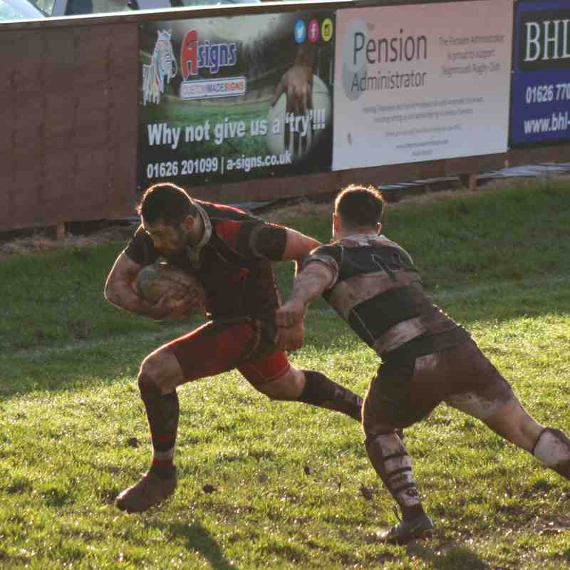 Teignmouth RFC v Exeter University Jan 2018 Part 1 of 2