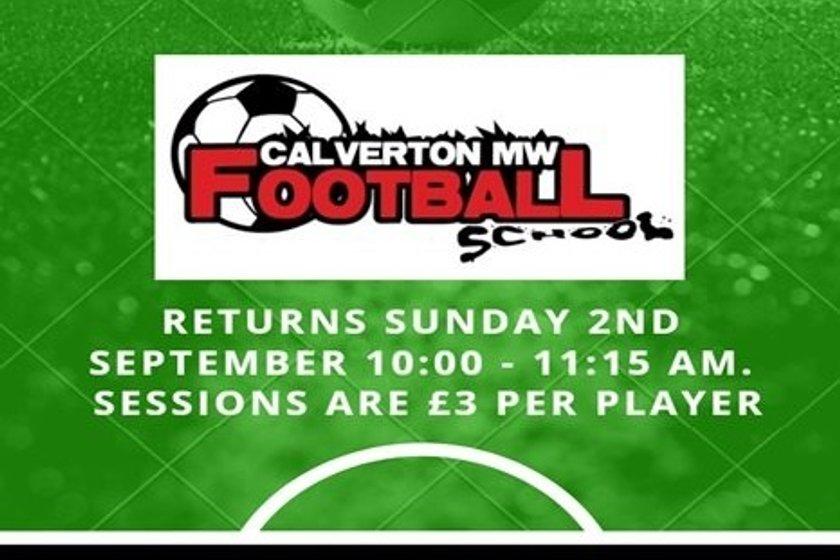 Football School Returns