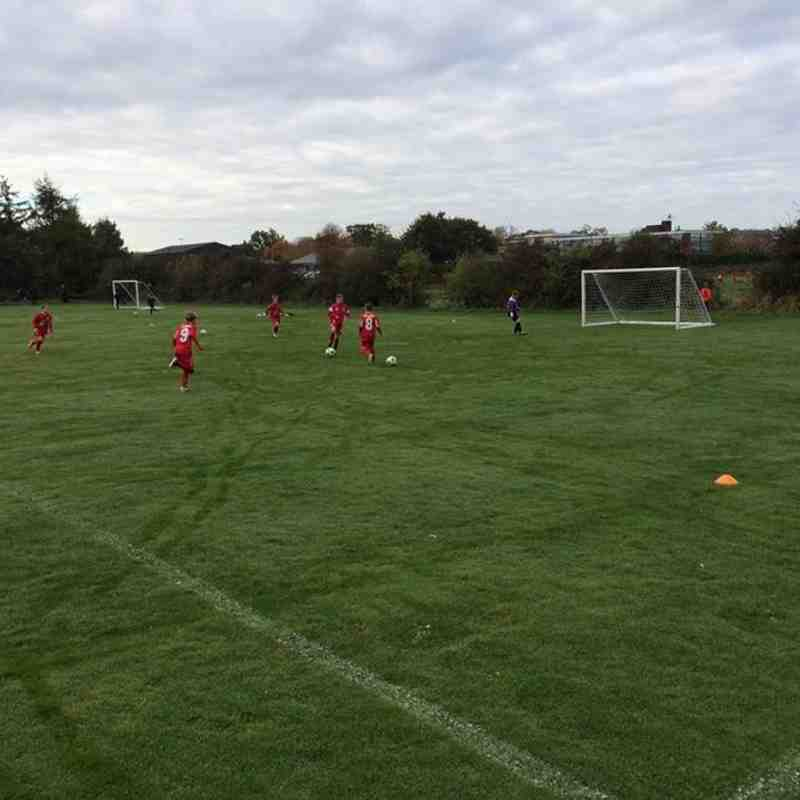 Under 9 v Wigan Athletic Academy Under 9 - Sat 22 Oct 2016