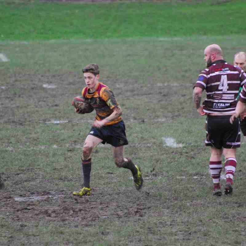 Edwardians v Newcastle (Staffs) 23/1/16 W 12 - 7