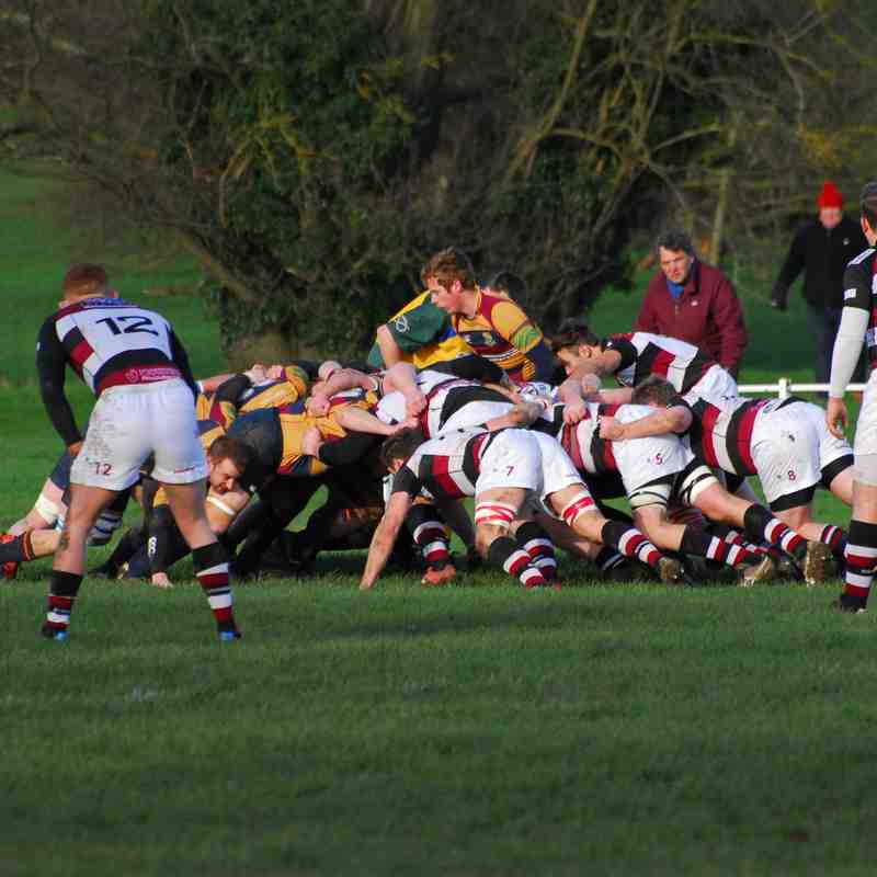 Tamworth v Edwardians 30/1/16 L 44 - 10