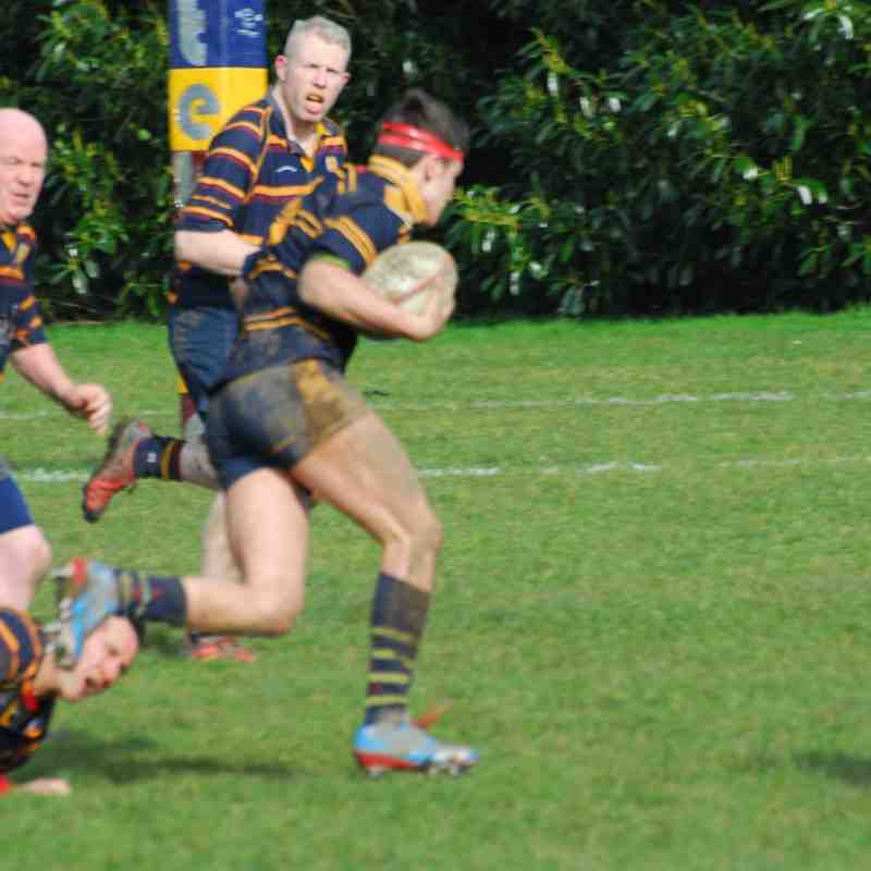 Edwardians (Vets) v Stourport 12/3/16 W 22 - 12