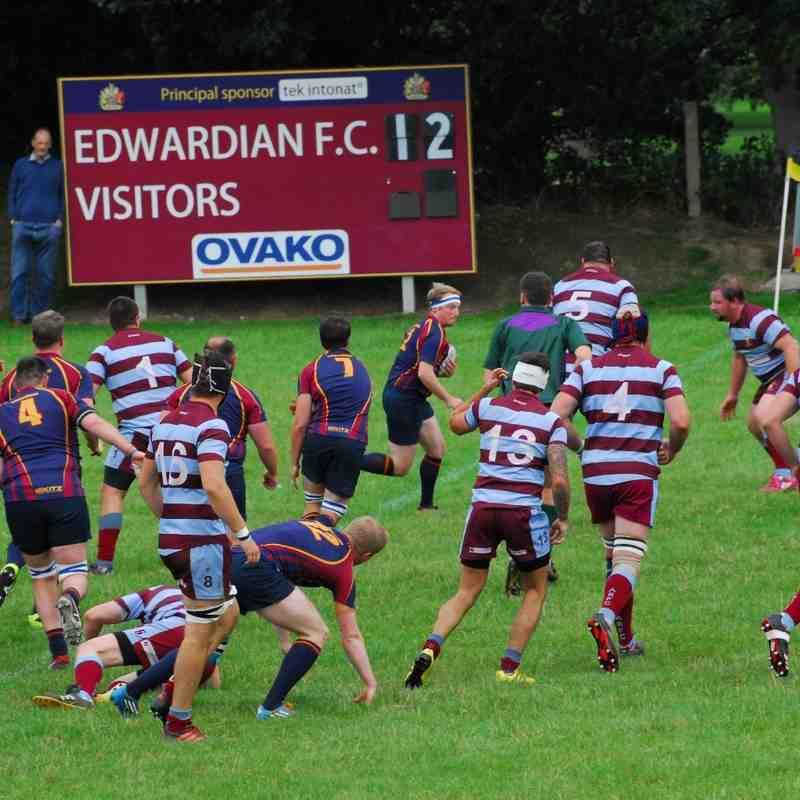 Edwardians v Ashby 24/9/16 W 24-7