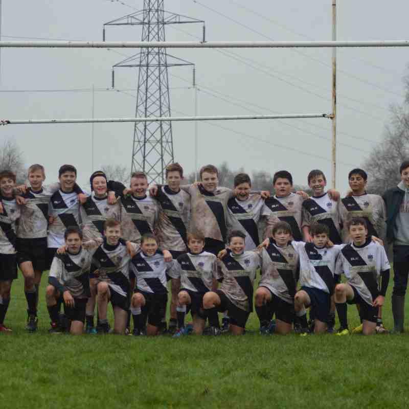 Burton U14's Vs Stoke