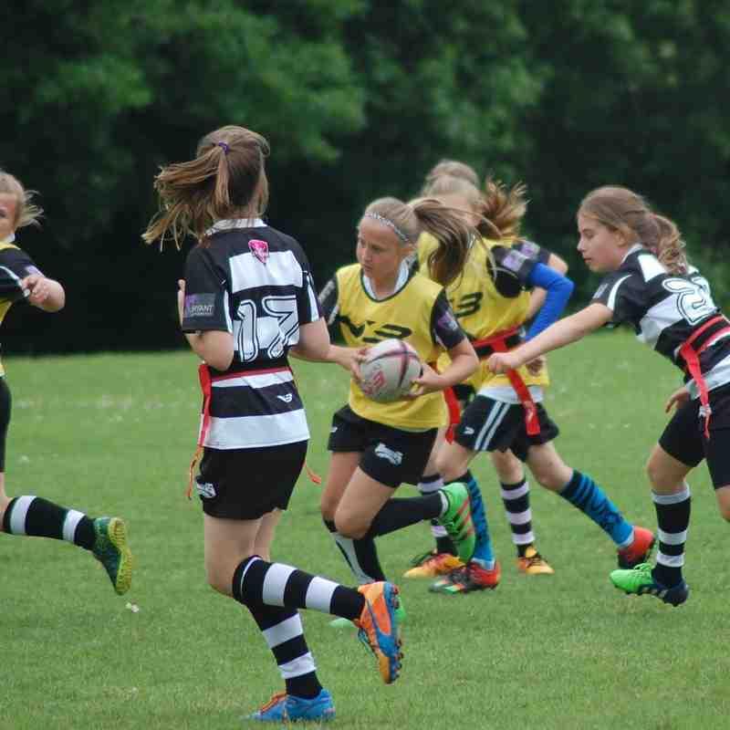 Mini & Junior Parents touch rugby tournament