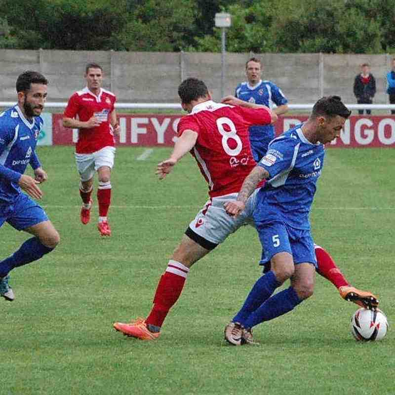 Bangor City First Team v Wrexham AFC - 8th July 2016