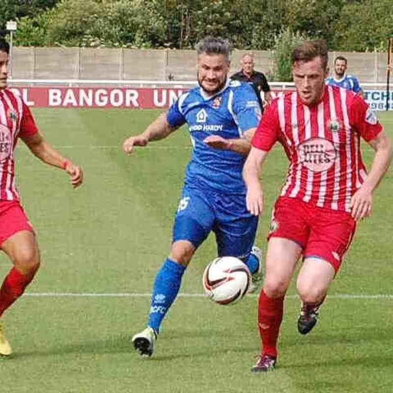 Bangor City First Team v Warrenpoint Town - 23rd July 2016