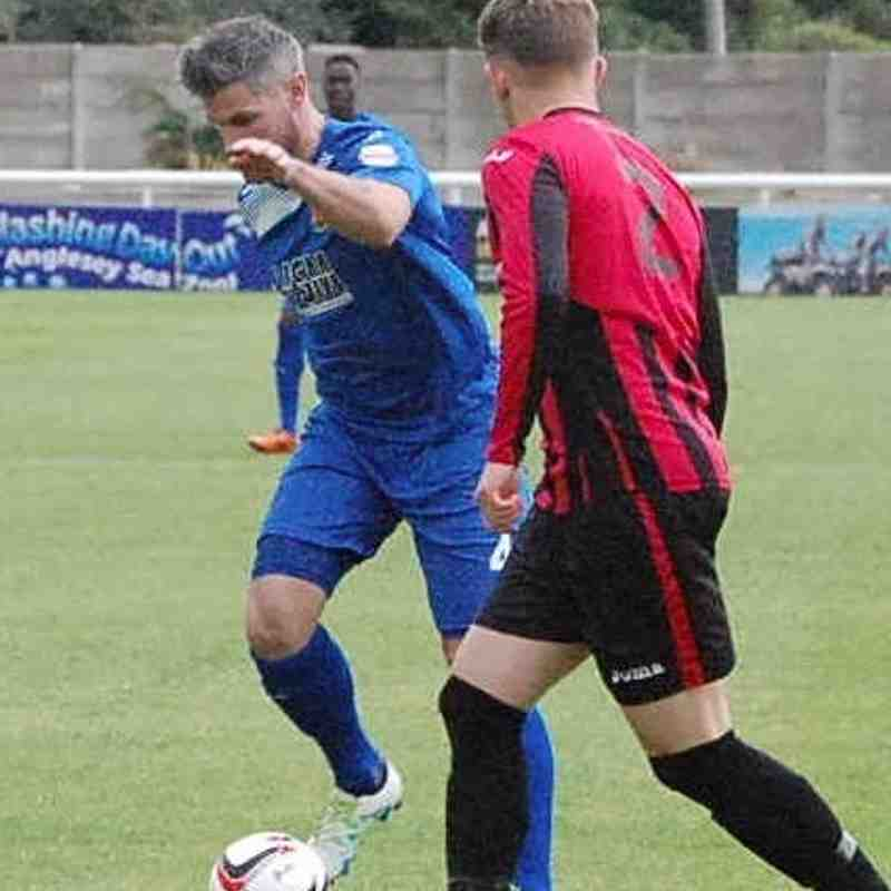 Bangor City First Team v CPD Porthmadog FC - 2nd August 2016
