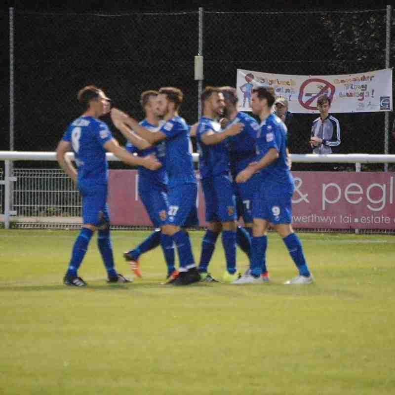 Bangor City First Team v Cefn Druids - Fri 12 Aug 2016