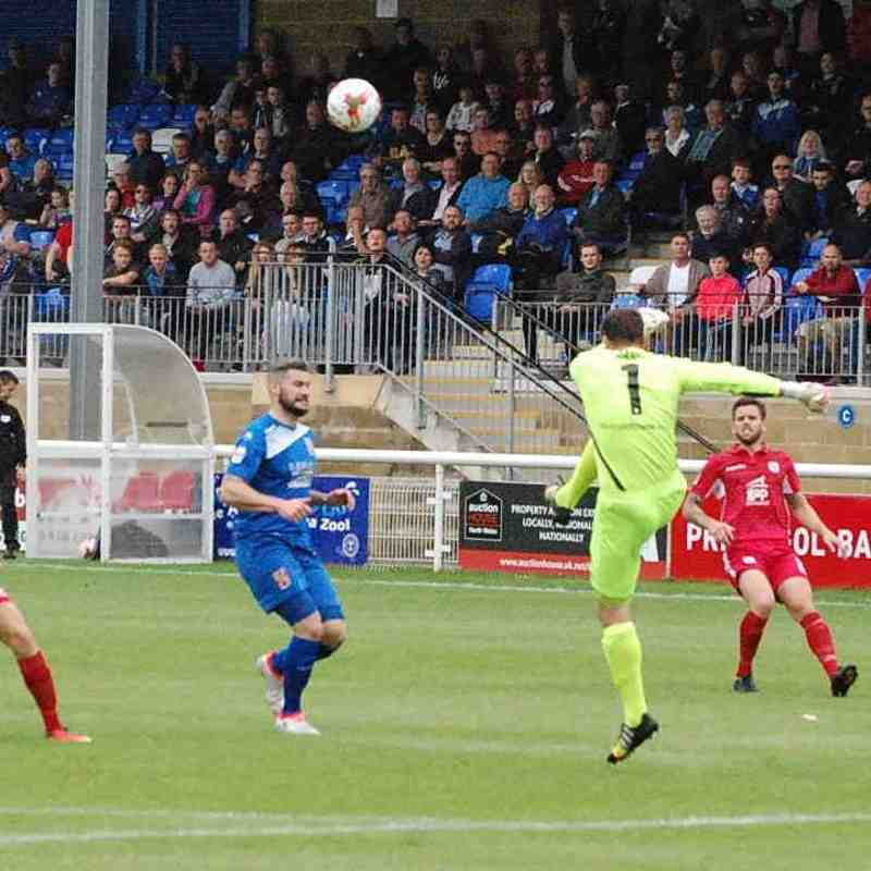 Bangor City First Team v Gap Connah's Quay - Sun 21 Aug 2016