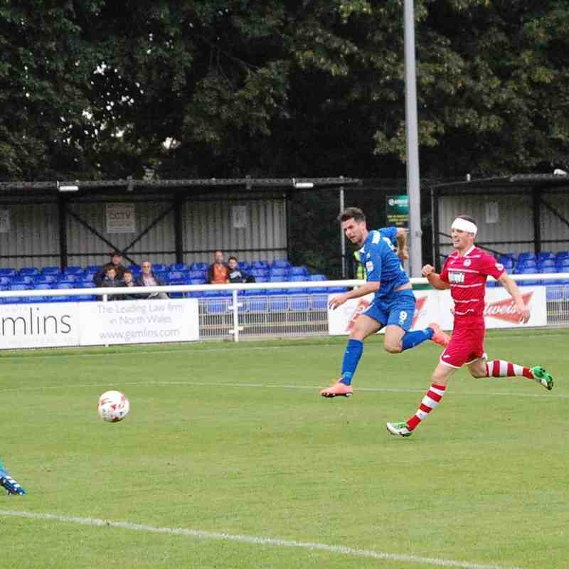 Bangor City First Team v Bala Town - Sat 27 Aug 2016
