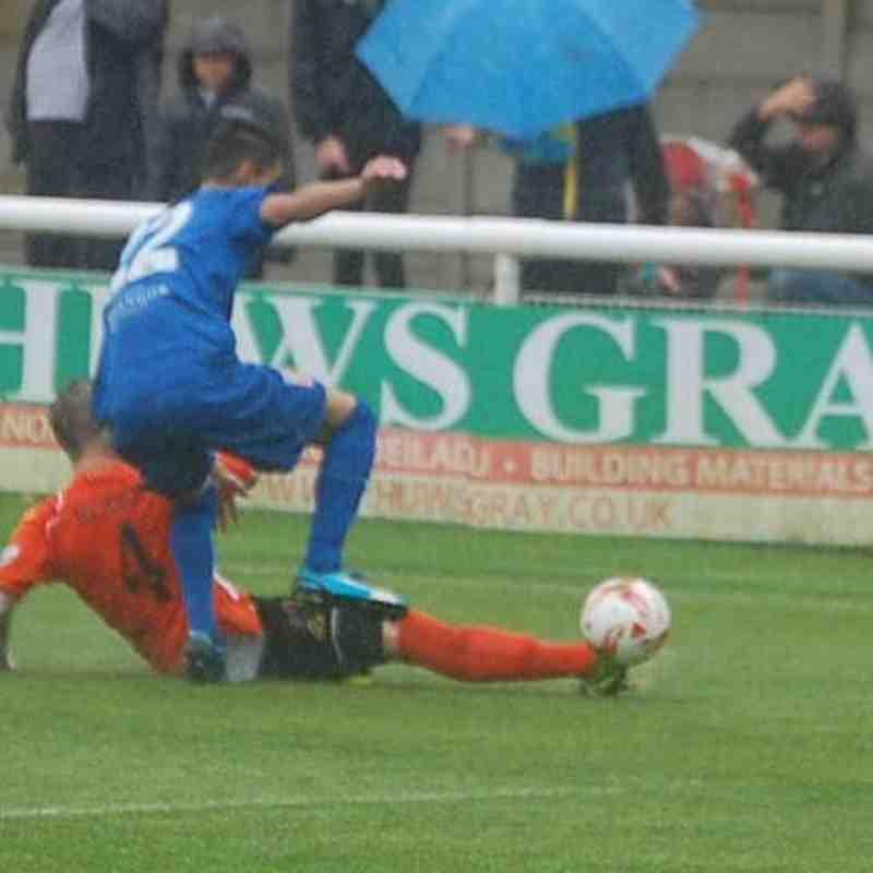 Bangor City First Team v Aberystwyth Town - Sat  3 Sep 2016