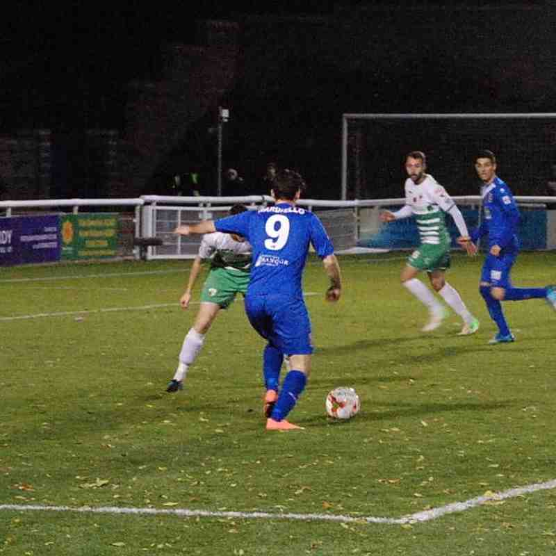 Bangor City First Team v The New Saints - Sat  5 Nov 2016