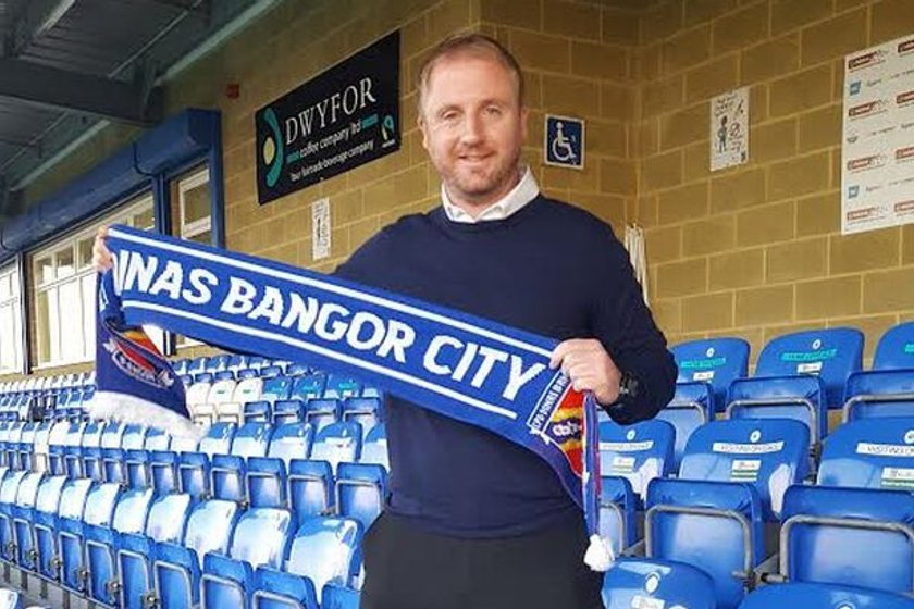 Ian Dawes is appointed new manager of Bangor City