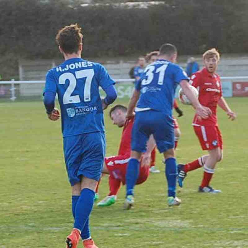 Bangor City First Team v Airbus UK - Sat 17 Dec 2016
